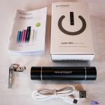 Packaging de la batterie externe avec lampe de poche intégrée RAVPower® RP-PB08 3000mAh - Luster mini
