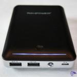 RP-PB13 RAVPower® 14000mAh, batterie externe de recharge avec indicateur LED, prise USB en sortie et micro-usb en entrée