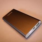 Chargeur externe EasyACC Li-polymer 8200mAh aluminium