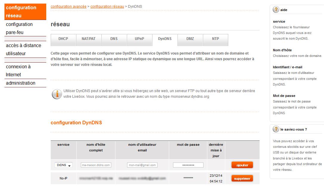 adresse ip dynamique service no-ip, dyndns ou dtdns