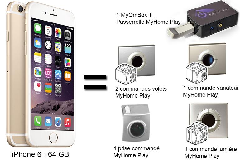 domotiser votre appartement pour le prix d'un iphone 6