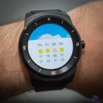 écran météo smartwatch lg g watch R