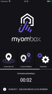 Nouvelle application MyOmBox Plug & Play Android