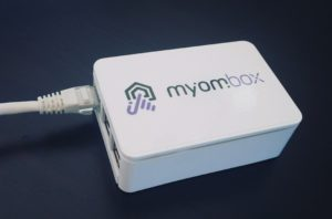 network connection of myombox